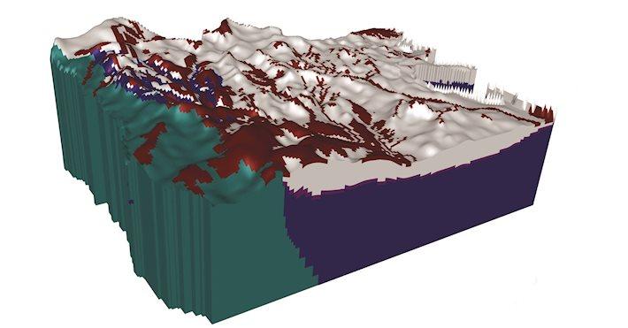 Geological model - Brazil
