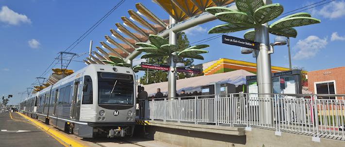 LACMTA - Los Angeles Metro Gold line Eastside LRT
