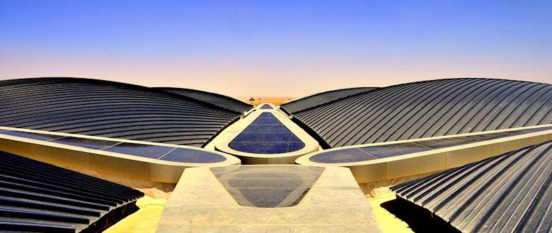 Queen Alia International Airport rooftop