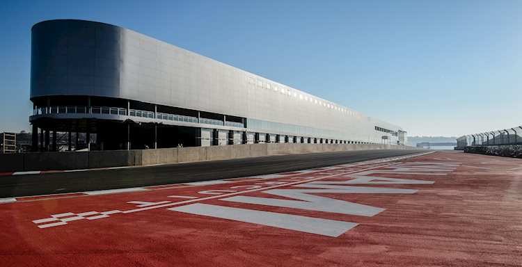Kyalami Race Tracks - Ingwe corner - Convention Centre