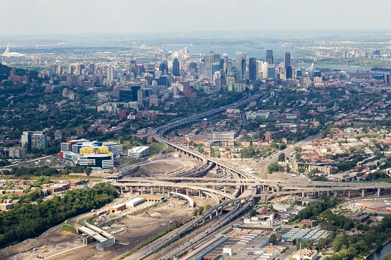 Turcot Exchange, Montreal, Quebec